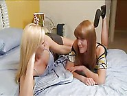Blonde Teaches Friend Lesbo Pleasure By Sirmeowmix