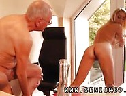 Old Man Young Woman Paul Firm Pound Christen Video