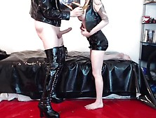Pvc And Scat Couple - Pooping On My Boyfriends Face And Eating S