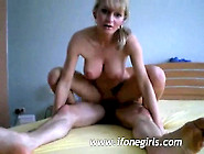 Blonde Babe Getting Gang Banged