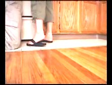 Cleaning Flip Flops