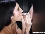 Gloryhole Secrets Big Tittied Milf Sucks Off Cock 1