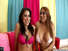 Alexa Nicole And Sheila Marie In Anal Lick Fest