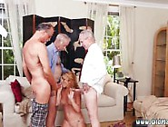 Old Father Seduce And Old Mom Gets Fucked First Time Frankie And