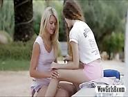 Izzy Delphine Munching On Vanessas Pussy