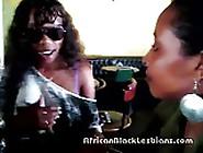 Slutty African Hottie Seduced By Sista