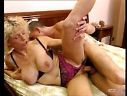 Granny Fisted And Anal