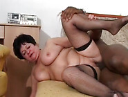 Insatiable Granny Riding Big Black Dick Like A Cowgirl