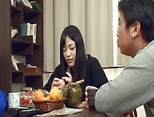 Asian Woman Made A Tasty Dinner For Her Friends And Deserved To