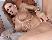 Mature Slut Janet Mason Fucked Brutally In Hardcore Interracial