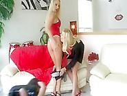 Exotic Pornstars Austin Kincaid,  Kylie Worthy And Tyann Mason In