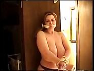 Tied Up Big Titty Girl And Takes Advantage