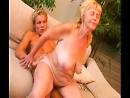 Blonde Mature With Big Tits Enjoys Wild Sex