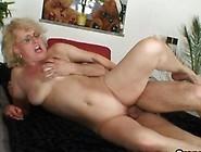 He Bangs An Old Blonde Widow Really Hard