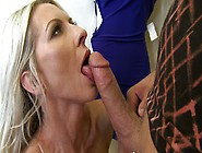 Hot Milf Emma Starr Pulls Out His Dick And Shoves It In Her Mout