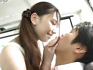 Japanese Girl Fucks Guy On Bus