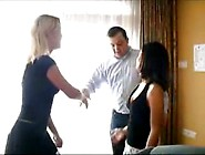 Amateur Treesome Trio Wife Swinger (4)