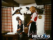 Bavarian Blonde Gets Eaten And Fucked By A Peasant