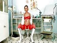 Smutty Nurse Gabriela Is Stretching That Guyr Sensuous Hoochie S