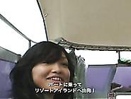 Kawaii And Sexy Girlie Reon Kadena Spends A Day On The Beach