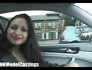 18 Year-Old Does Her First Casting