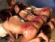 Japanese Lesbian Bondage With Wax Torture