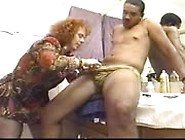 Black Male Stripper Fucks A Customer In The Dressing Room