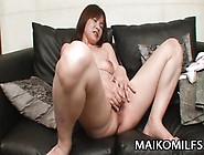 Chiho Fujii:jav Mom Wrinkled Pussy Fucked And Creampied