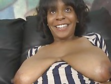 Busty Black Milf Get Nice Ramming Action In Her Mouth