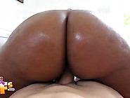 Chubby Curly Ebony Hoe Gets Fucked By A White Cock