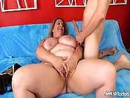 Amorous Bbw Winter Wolf Rubs Her Pussy And Then Gets Her Mouth A