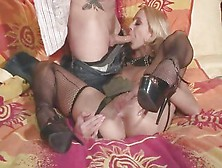 Tantalizing Kelly Wells Throat Fucks This Hard Dick
