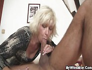 Blonde Mother In Law Gets Laid