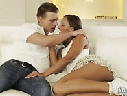 Mature Angel Snow 3Some With Teen Couple
