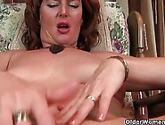 Mature,  Red Haired Woman Is Eager To Have An Orgasm,  So She Is T