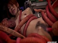 Alien With Tentacles Rapes And Impregnates A Japanese Girl