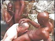 Outdoor Gay Orgy