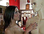 Porn Star Fucks At A Sex Shop
