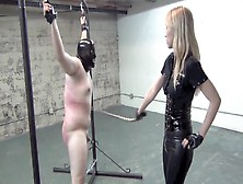 Hard Whipping By Blonde Asian Mistress (Part 2 Of 2)