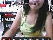 19 Year Old Malaysian Chick On Webcam