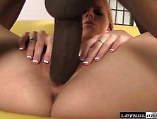 Sean Michaels Stretches Our Horny Haley Cummings
