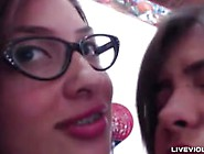 Cute 18 Tathiana Invites Her Lesbian Friend To The Party