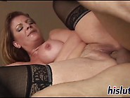 Stunning Mature Harlot Has Her Pussy Drilled