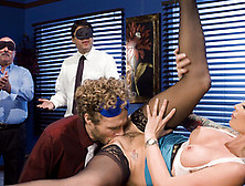 Office Boss Monique Alexander Gets Pussy Licked And Fucked In Th