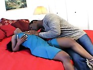 Stacked Chocolate Hooker Gets Her Pussy Licked And Drilled By He