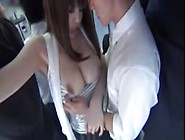 Asian Babe Groped In Bus