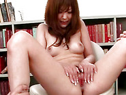 Asian Hot Model Gets Hairy Pussy Spread In Close-Up