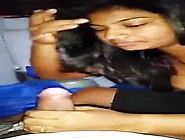 Desi Girlfriend Roshni Patel From Dehli Giving A Nice Blow Job