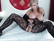 Horny Mommy Bentley With Huge Boobs And Sexy Lingerie