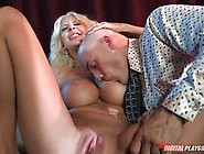 Courtney Taylor Has A Big Cock Invading Her Sweet Pussy Pie